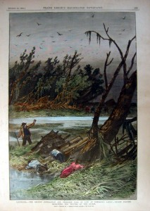 After the Great Hurricane of 1886, Louisiana/Texas Border
