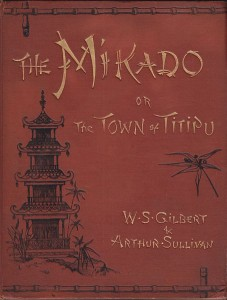 Mikado vocal score
